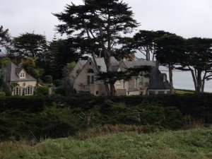 Gene Hackman's $37 million mansion off No. 9 at Pebble.