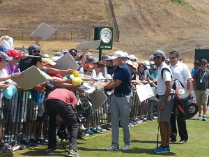 Spieth always has time for fans
