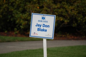 Defending champ gets primo parking space