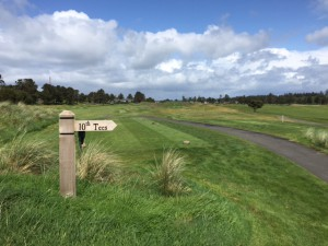 Gearhart has all the earmarks of a Scottish links course